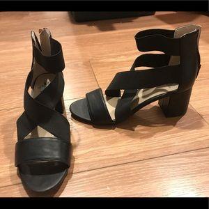 Naturalized block heels